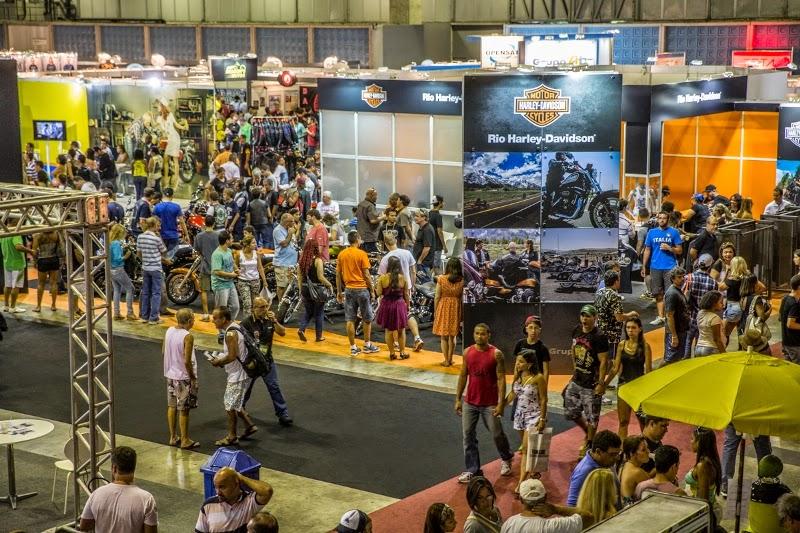 Salão Bike Show 2015 no Rio tem recorde de público e novos negócios.