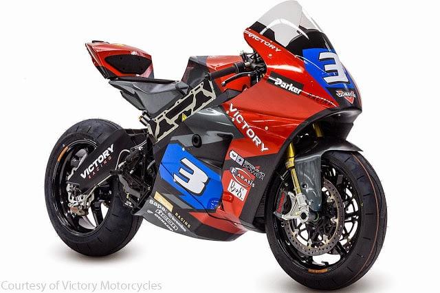 Victory Motorcycles vai competir com uma Moto Elétrica na Ilha de Man