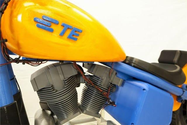 Moto criada em impressora 3D impressiona e mostra o potencial da tecnologia