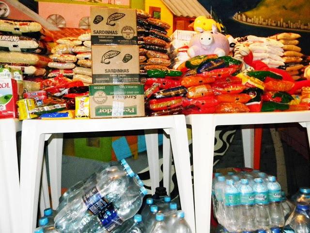 SOS Xanxerê: mais de 300 kilos de alimentos além de roupas e donativos!