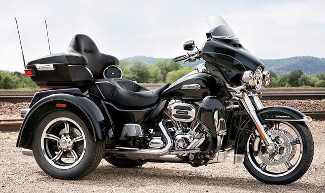 Primeira Harley Davidson Trike no Brasil