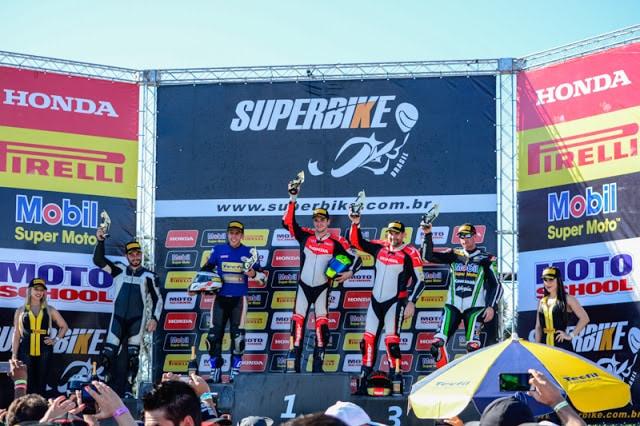 Diego Faustino supera Danilo Lewis por 47 milésimos de segundo e vence a 2ª etapa da SuperBike