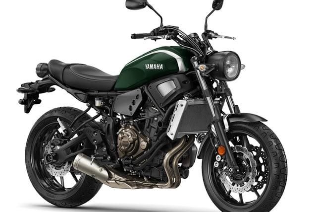 Yamaha apresenta a XSR 700. Uma versão retrô da MT-07.