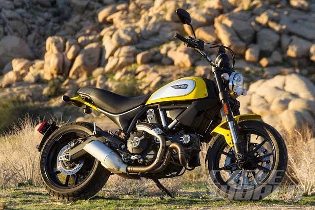 Ducati Scrambler começa a ser montada no Brasil