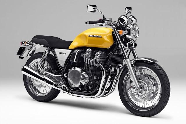 Clássico e moderno: Honda mostra CB1100 com design retrô