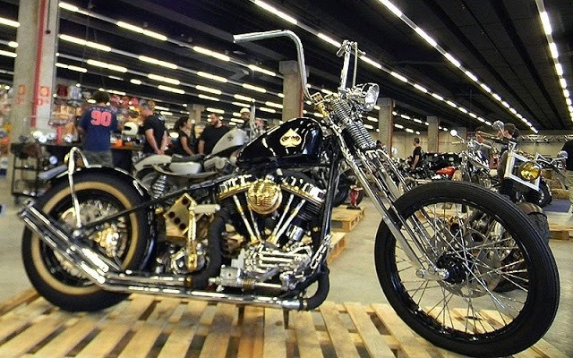 Evento de customização teve até moto folhada a ouro de R$ 300 mil