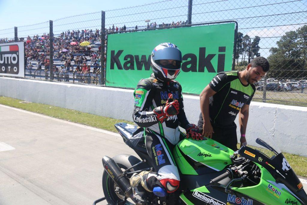O londrinense Wesley Gutierrez chegou em segundo lugar na etapa de Curitiba