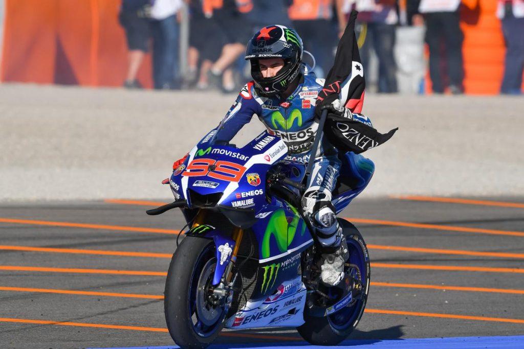 Jorge Lorenzo vence o MotoGP em Valência