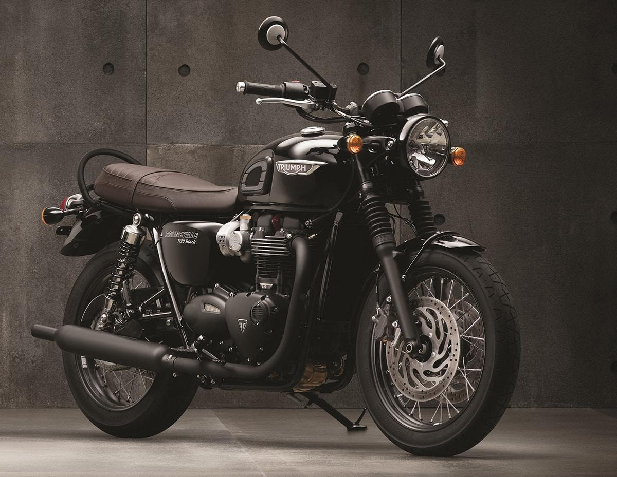 Bonneville T120 Black