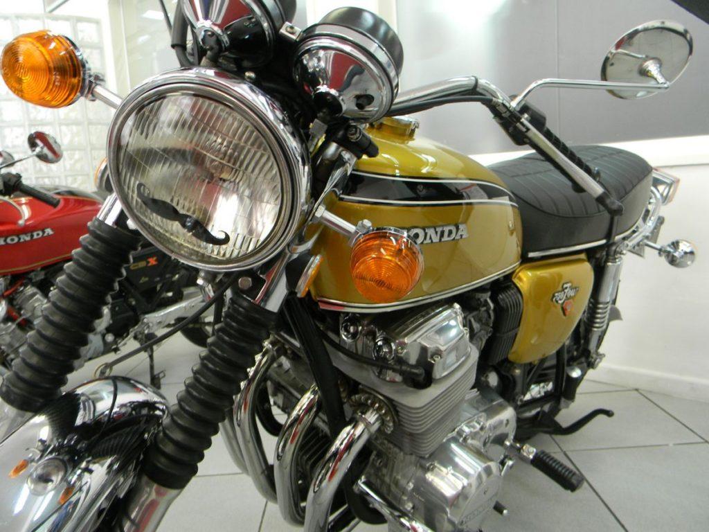 Honda CB 750k 1974 - Na exposição Cabral Vintage