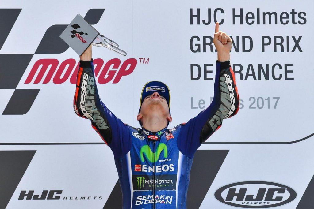 Maverick Viñales vence o MotoGP da França e lidera o campeonato