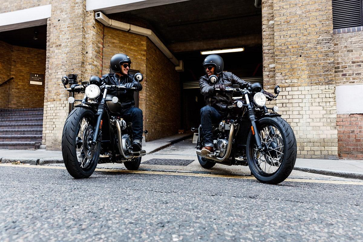 Triumph Bonneville Street Scrambler e Triumph Bonneville Bobber