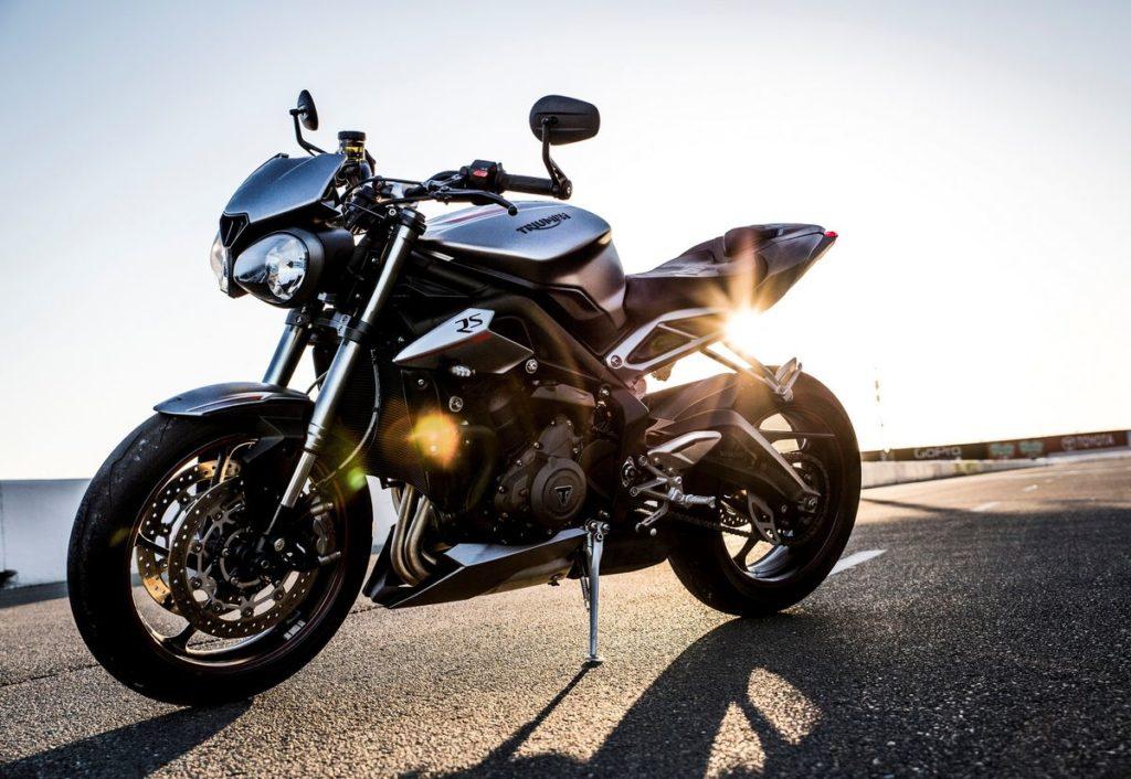 Street Triple 2017, base do motor Triumph Moto2 765cc