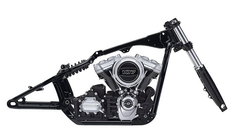 Novo quadro Harley-Davidson Softail - 2018