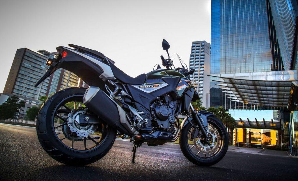 crossover CB 500X - 2018