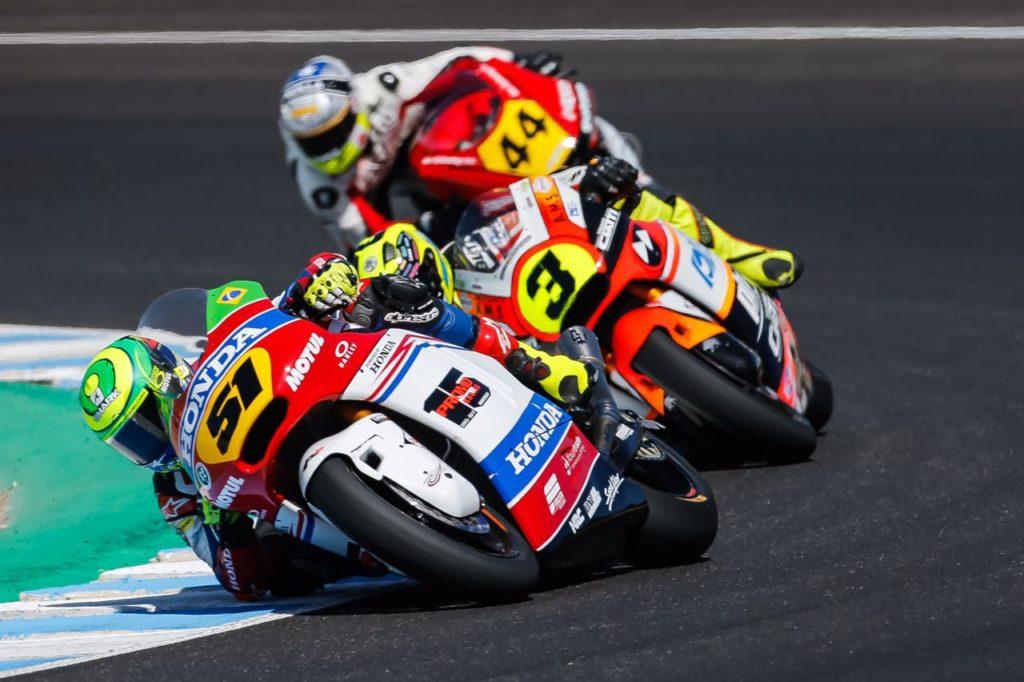 Eric Granado mantém liderança no Europeu de Moto2