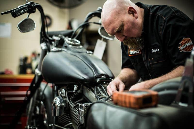 Harley-Davidson service