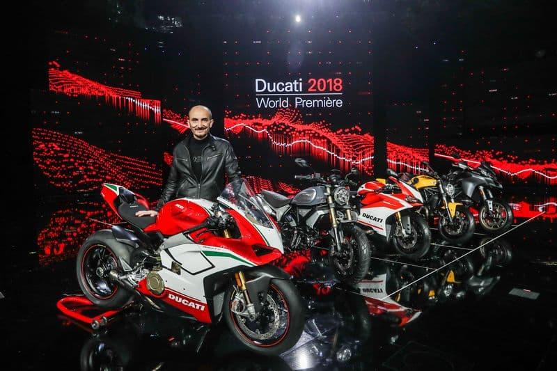 Ducati World Première 2018 - Claudio Domenicali, Ducati CEO