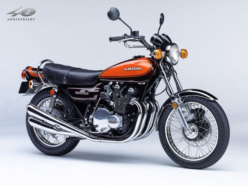 Kawasaki Z1 - década de 1970