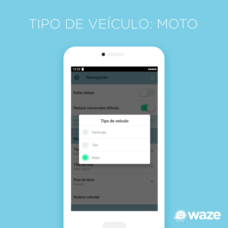 Waze lança recurso voltado para motos