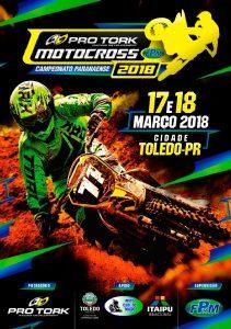 Campeonato Paranaense de Motocross inicia neste fim de semana, em Toledo (PR)