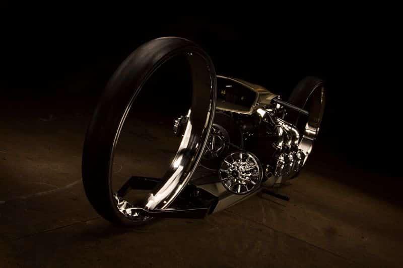 Moto brasileira com motor de avião vence o mundial de customização nos EUA