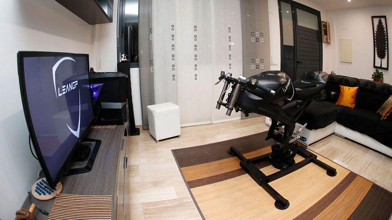LeanGP apresenta um simulador de moto em Realidade Virtual versão Home