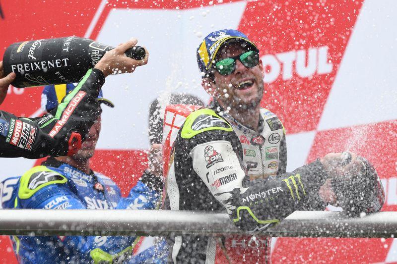 Cal Crutchlow vence o GP da Argentina; Márquez tem um dia para esquecer