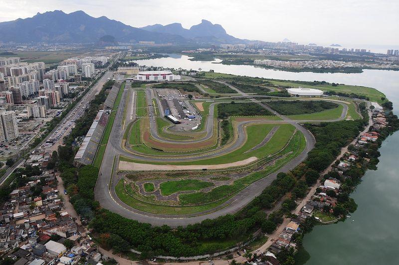 Autódromo de Jacarepaguá - desativado - recebeu as corridas da MotoGP até 2004