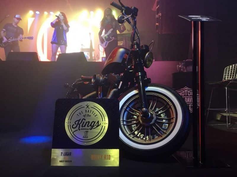 Rusty Rio - Durante a festa de premiação - Foto: reprodução Facebook