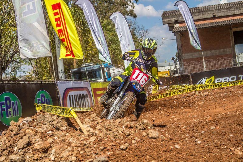 Rafael Faria na etapa BMS de Velocross - Foto: Rafael Schwartz / Velocross News