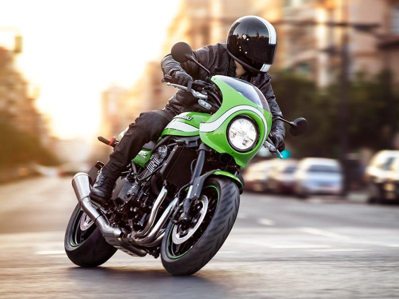 Lançamento:  Kawasaki Z900RS Café - a esportividade que vem com o clássico