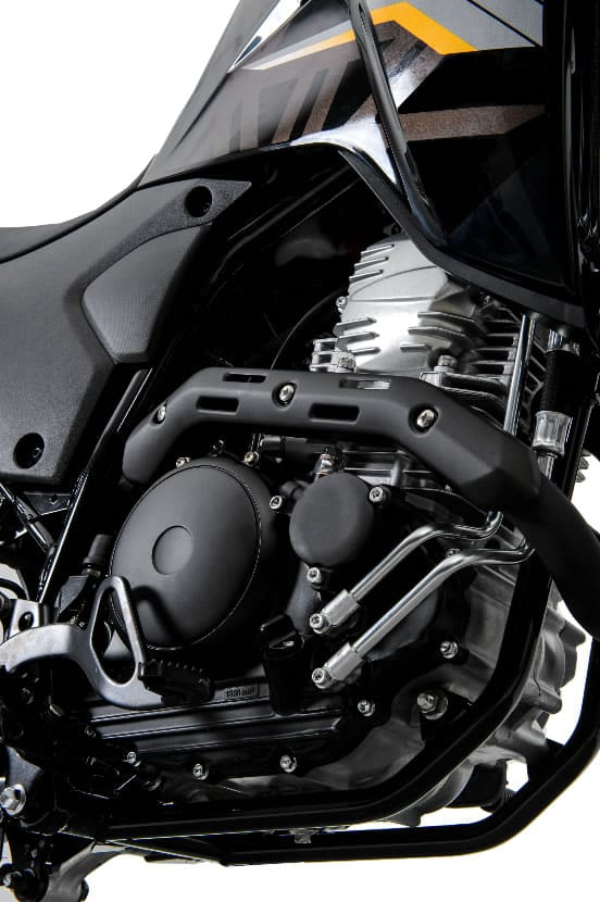 Yamaha apresenta a nova geração Lander com ABS