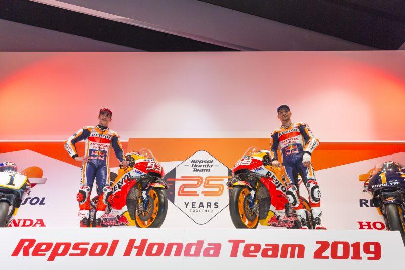 Equipe Honda motogp 2019