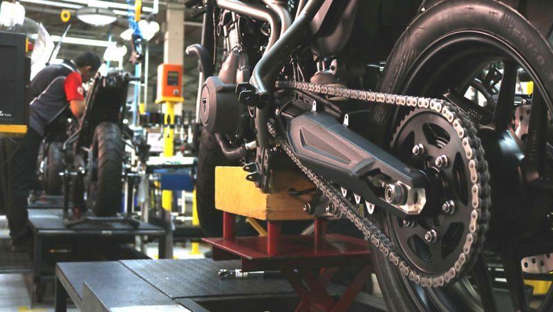 Fábrica da Triumph em Manaus atinge a expressiva marca de 25.000 motos montadas