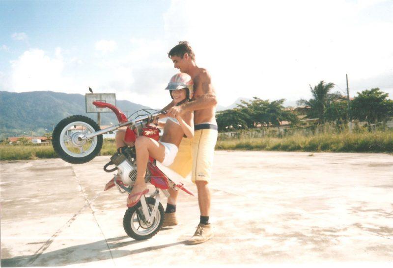 Wheeling Stunt - Dominick Argentino com o pai