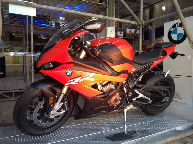 BMW S 1000 RR 2020 no BMS Motorcycle 2019