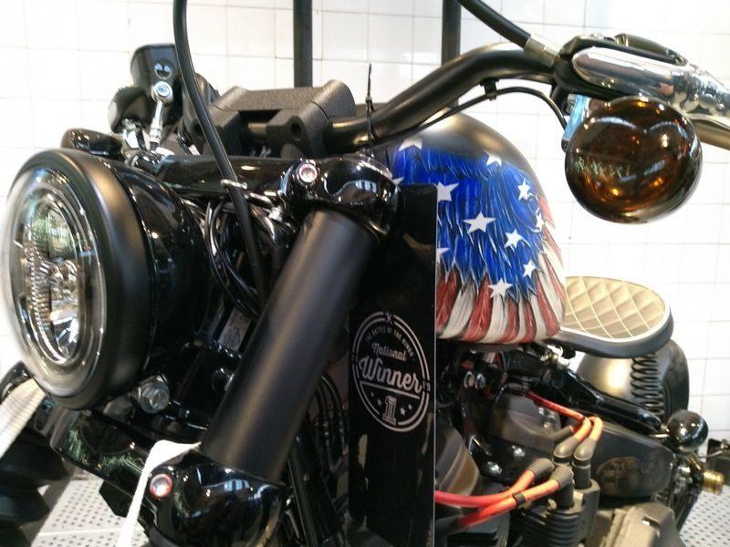 Liberty - Vencedora do Battle of the Kings Brasil. Customização da Tennessee Highway Harley-Davidson de Itupeva - SP