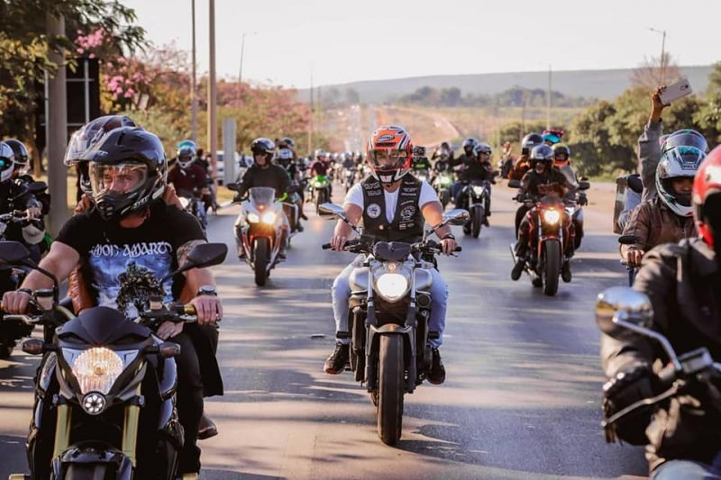 mapa da motocicleta no Brasil