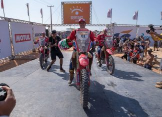 Rally dos Sertões 2019 - Com uma prova perfeita, liderando de ponta a ponta, Tunico Maciel é bicampeão da geral na categoria motos.