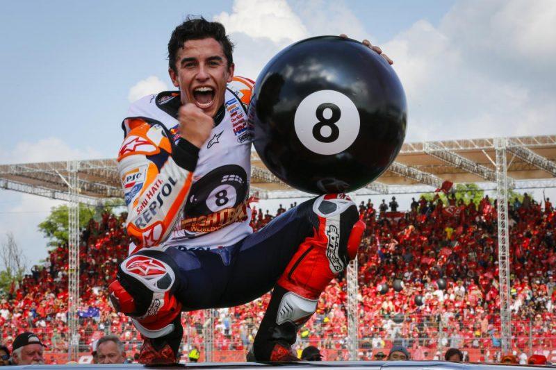 MotoGP 2019: Marquez vence na Tailândia e se torna hexa