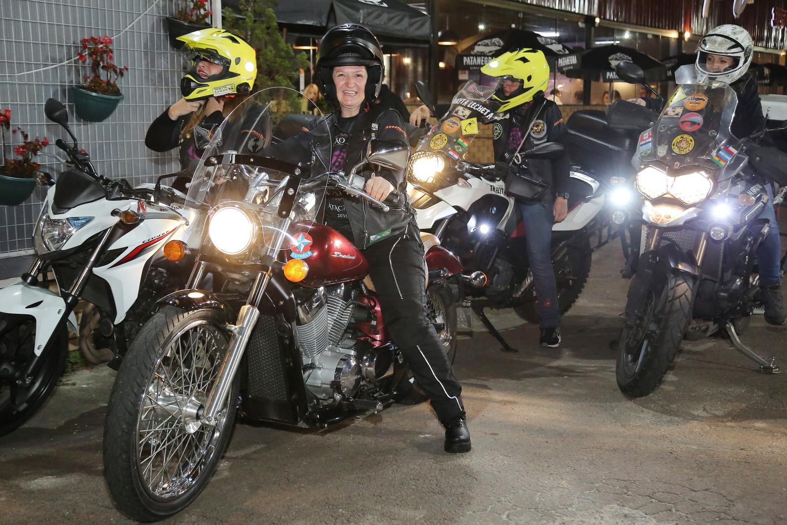 Dia Internacional da Mulher - Mulheres motociclistas - Filhas do Vento e da Liberdade - Foto: Giuliano Gomes/PRPress
