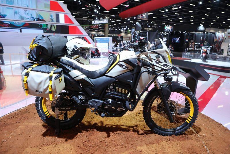 XRE 300 Adventure - Conceito da Honda Motos no Salão Duas Rodas. Foto: Fabio Tito - G1