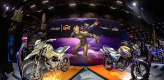 Stand da Yamaha no Salão Duas Rodas