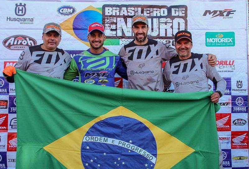 Enduro FIM - Time Brasileiro ISDE FIM 2019 Divulgação MXF Motors