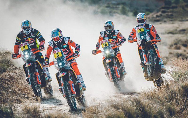 Equipe KTM no Rally Dakar - Foto: Sebas Romero - KTM Media Library