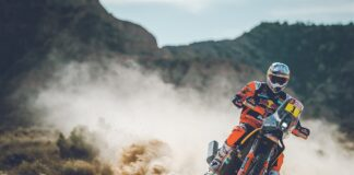 Toby Price - KTM 450 RALLY DAKAR