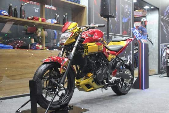 MT-03 IRON MAN NA CCXP 2019
