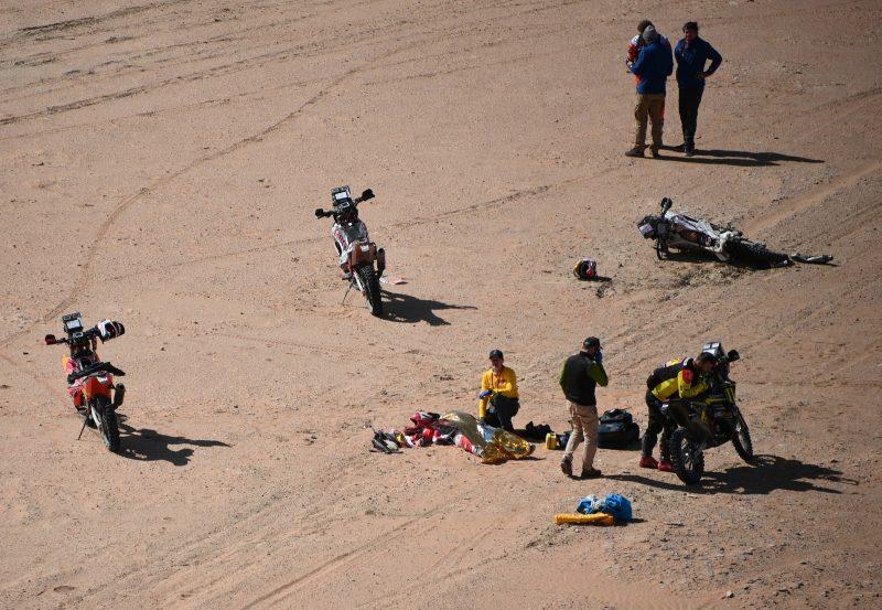Rally Dakar - acidente Paulo Gonçalves