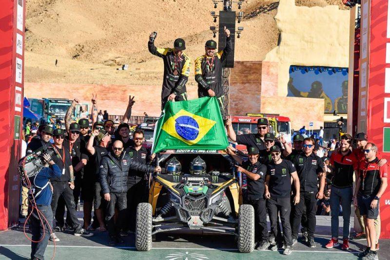 Varela e Gugelmin venceram a última etapa do Rally Dakar e terminaram na 9ª posição - DPPI/Dakar